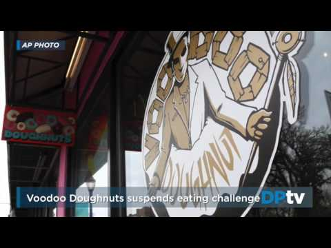 Voodoo Doughnuts suspends eating challenge after man dies at Colfax location