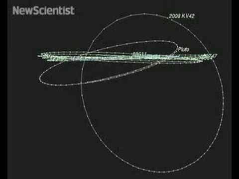 Distant object found orbiting Sun backwards