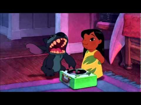 Lilo & Stitch 2002 Record Player Scene