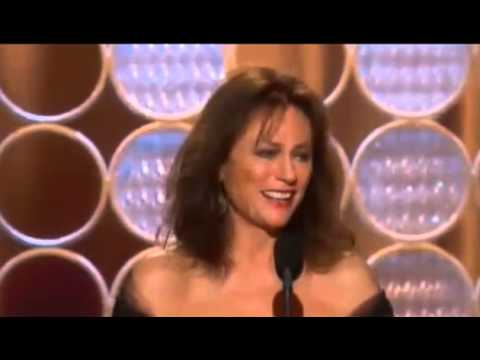Jacqueline Bisset wins speech Golden Globe Awards 2014 | HD