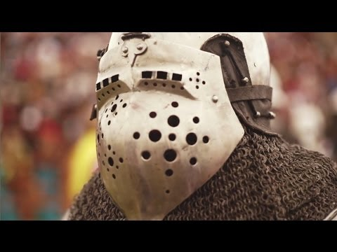This is Historical Medieval Battle sport