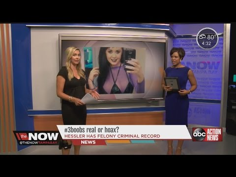 Is the woman with three breasts a hoax? #TheNowTampaBay