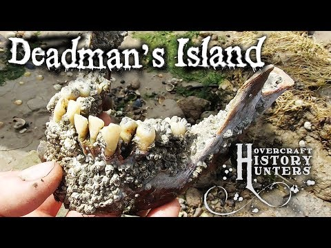 GRUESOME FINDS at Deadman's Island - Hovercraft History Hunters