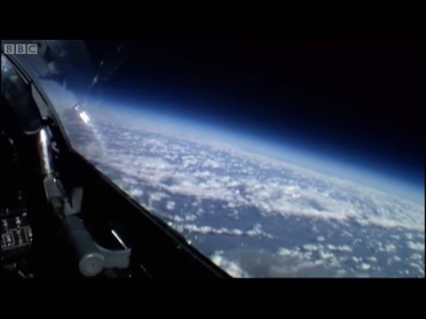 James May Witnesses Curvature of Earth | James May: On The Moon | Brit Lab