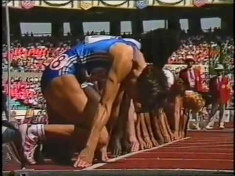 Florence Griffith Joyner 1988 100m Finals