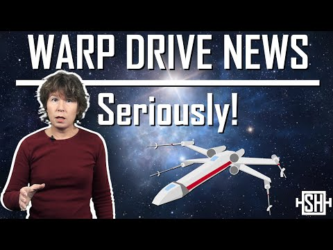 Warp Drive News. Seriously!