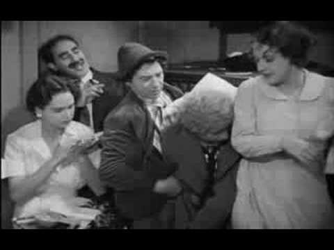 A Night At The Opera: Crowded Cabin Scene
