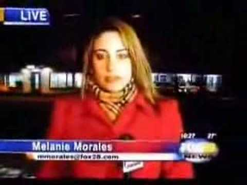 Funny News Reporter Blooper