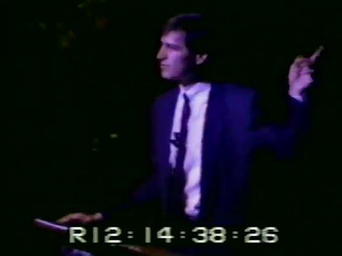 Steve Jobs Unveils the NeXT Computer - October 12, 1988