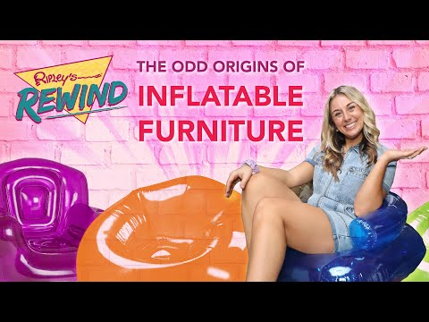 Inflatable Furniture: Military Tactic or 90s Bedroom Staple?