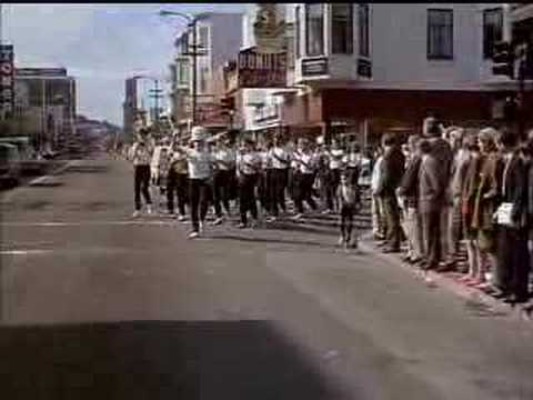 WOODY ALLEN TAKE THE MONEY AND RUN CELLO MARCHING BAND SCENE