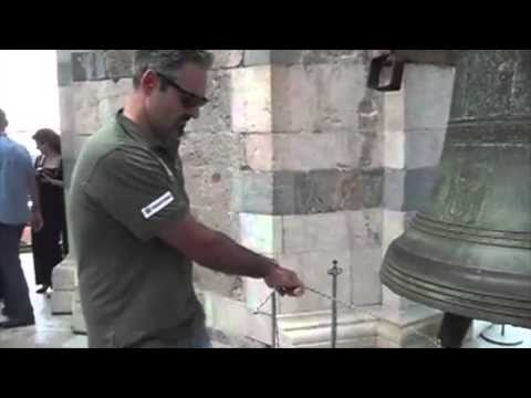 the bellringers of barga on the leaning tower of pisa