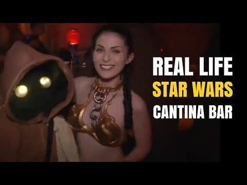 Real Life Star Wars Cantina Bar - The Cantina of Scum and Villainy