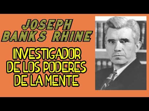 JOSEPH BANKS RHINE, INVESTIGADOR de los PODERES de la MENTE