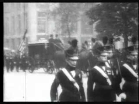 Funeral of Hiram Cronk 1905