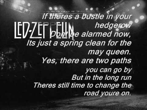 Led Zeppelin - Stairway to Heaven (backwards)
