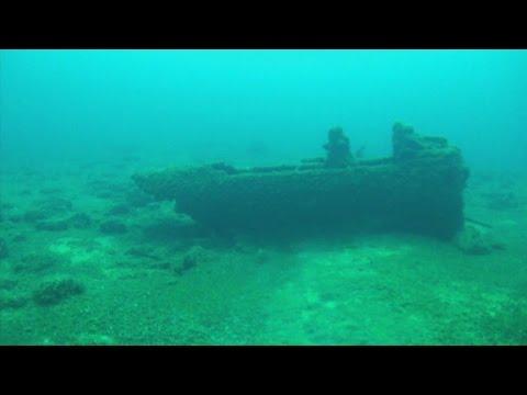 Divers Discover Lake Michigan Plane Wreck