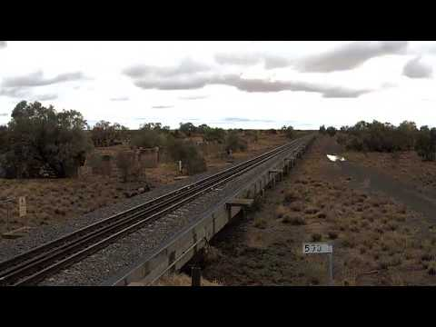 Time-Lapse Footage Shows Flood Engulfing Stretch of Queensland Railway Line
