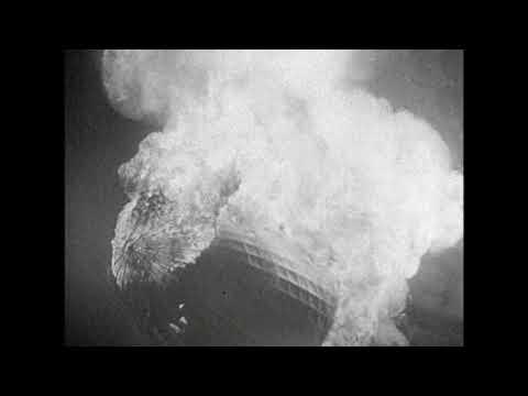 Hindenburg Disaster - Enhanced Audio
