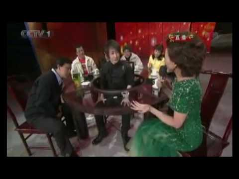 English Subtitles - 【2010央视春晚】 魔术表演 Liu Qian Magic