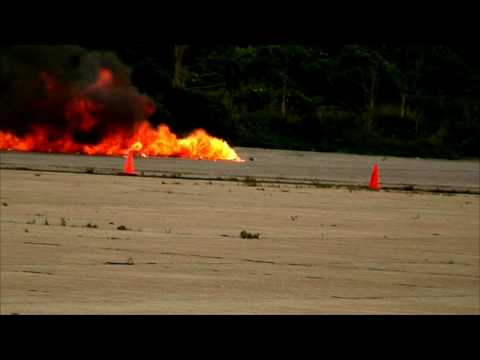 The best footage EVER of a RC jet crash ;)