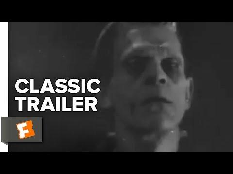 Frankenstein Official Trailer #1 - Boris Karloff Movie (1931) HD