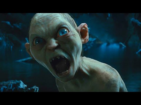 Baggins, You Thief!   The Hobbit (2012) - Stealing The Ring from Gollum scene