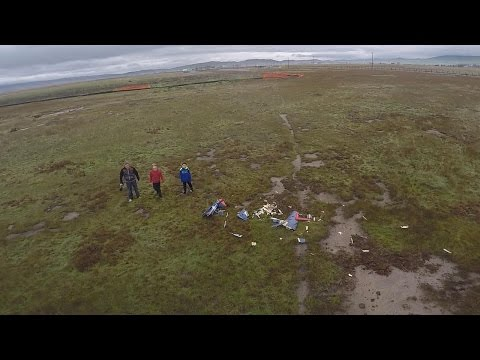 Drone Search and Rescue of Downed Airplane