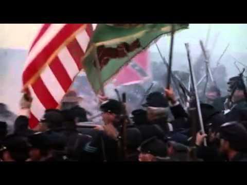 Gettysburg 1993 Pickett's charge Armistead is hit