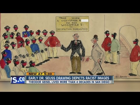 Early Dr. Seuss drawing depicts racist images