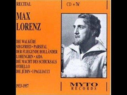 Meistersinger - Act 2; finale; Furtwängler, Lorenz.