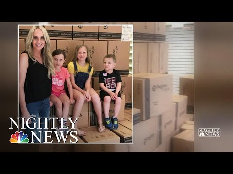 Arkansas Mom Buys Out Closing Payless Stores To Give Shoes To Kids In Need | NBC Nightly News