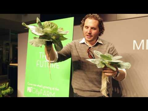 CityFARM 1st Harvest Event MIT Media Lab