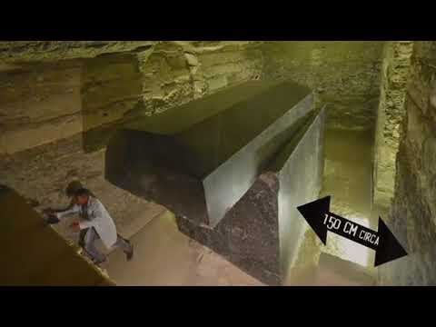 Mystery of 24 alien black-boxes discovered near Egypt's Pyramids of Giza