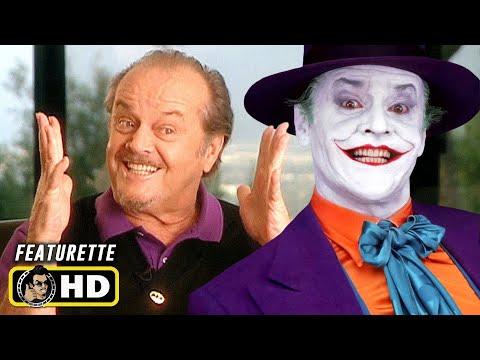 BATMAN (1989) Casting The Joker [HD] Behind the Scenes, Jack Nicholson