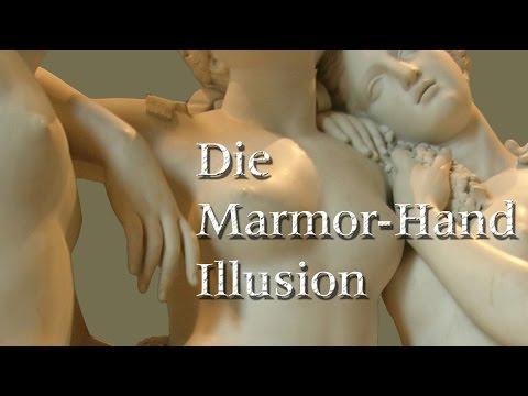 Die Marmorhand-Illusion