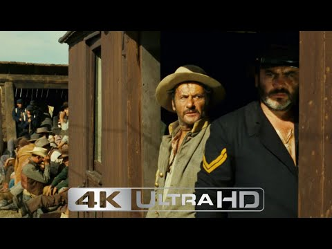 """""""The Good, the Bad, and the Ugly"""" - Tuco Changes Trains [4K]"""