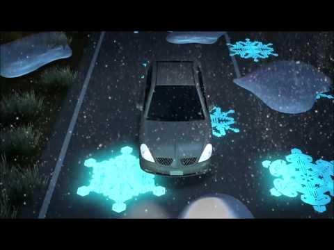 Futuristic Glow in the Dark Highways