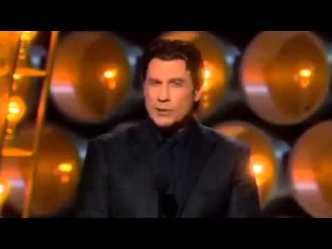 JOHN TRAVOLTA THE BIGGEST OSCAR FAIL EVER! Idina Menzel BUTCHERED