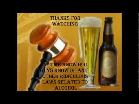 Top 10 Most Ridiculous Alcohol Laws In USA