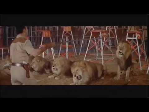 Clyde Beatty - Domador e Treinador de Leões e Tigres