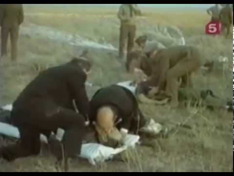 Soyuz 11 CPR footage