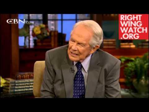 Pat Robertson Tells Man to Beat his Wife, Move to Saudi Arabia