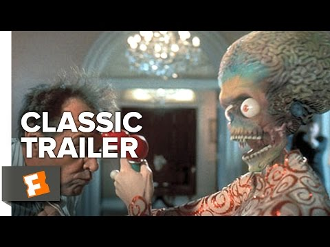 Mars Attacks! (1996) Official Trailer #1 - Jack Nicholson, Pierce Brosnan Sci-Fi Comedy