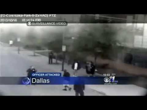 Homeless Man Saves Police Officer