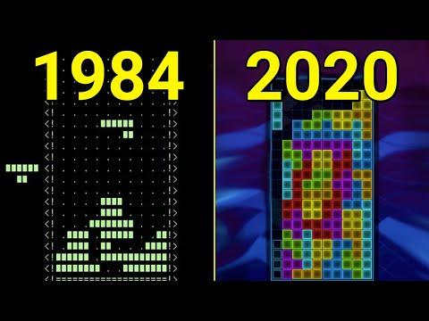 Evolution of Tetris Games 1984-2020