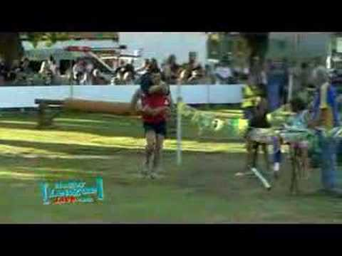 Wife Carrying Championship, Singleton / Australia 2008