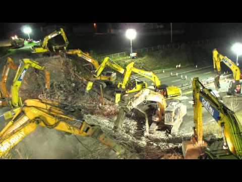 M9 Chartershall Bridge Demolition