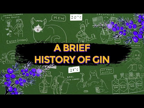A Brief History of Gin   Shakespeare Distillery