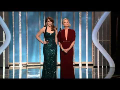 Golden Globes 2013 Opening - Tina Fey and Amy Poehler